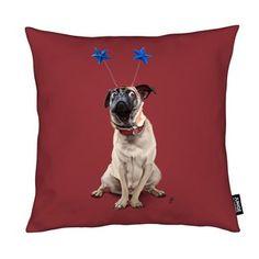 A Pug's Life! - Rob Snow | Creative - Cushion gift | female | dog | ideas | inspiration