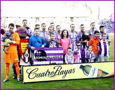 Equipos de fútbol: REAL VALLADOLID contra Lugo 26/02/2017