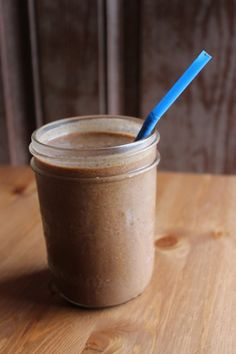 Coconut, coffee and maca smoothie