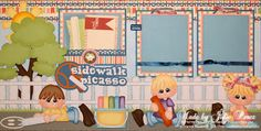 Precious Memories by Julie: Sidewalk Picasso