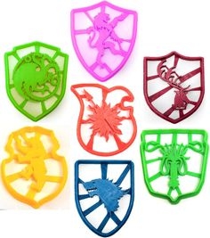 Game of Thrones Sigil Cookie Cutter Set by TorisPartyKitchen