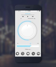 30 Fresh Examples of Mobile Apps with Circular Vibe - 9