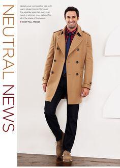 f804b92c79 Banana Republic Camel jacket. Tan Trench Coat