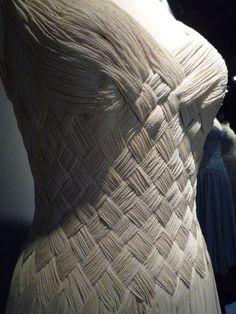 Fernanda Gattinoni's dress for Ingrid Bergman, circa 1955 dress in ivory silk crepe