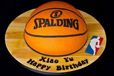 spalding basketball cake | 30 of the World's Greatest Basketball Cake Ideas and Designs