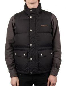 Carhartt Raleigh Vest - Dull Black £ 149.95