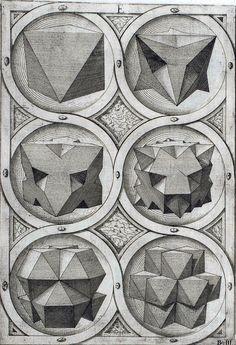 Jost Amman - Sechs Oktaeder (1568)