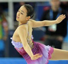 Mao Asada / Figure skater. In Sochi.