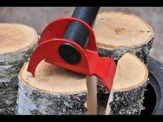 Revolucionarni izum nakon 8.000 godina: Sekira koja cepa drva skoro sama! ~ Prirodni lijek