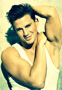 Channing Tatum. If I woke up from a coma and he said he was my husband. . Well alright then! :)