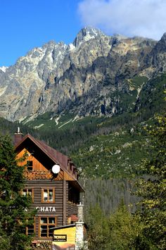 Mountain Hut, Tatra Mountains, Slovakia