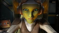 Vanessa Marshall is being the voice of Hera in Star Wars Rebels