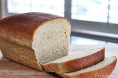 The Very BEST Whole Wheat Bread is the softest, moistest, fluffiest, freshest-staying, homemade, 100% whole wheat bread you've ever tried! | FiveHeartHome.com Best Whole Wheat Bread, Whole Wheat Sourdough, Wheat Bread Recipe, Bread Recipes, Wheat Gluten, Pan Bread, How To Make Bread, Bread Making, Dry Yeast