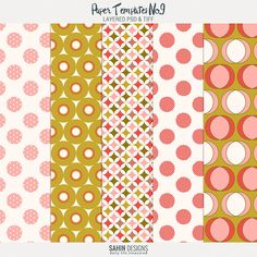 Paper Templates No.9 by Sahin Designs Commercial Use