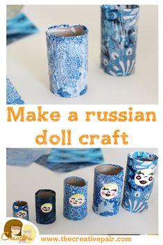 How to make a Russian doll craft - Meet a creative — The creative pair