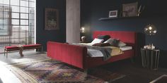 Dream-Line | Lits | Hasena AG Furniture, Room, Warm Colors, House Rooms, Home Decor, Dreamline, Bed, Bed Frame, Bedroom