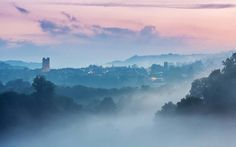 Awesome photo of where I live! Richmond, North Yorkshire