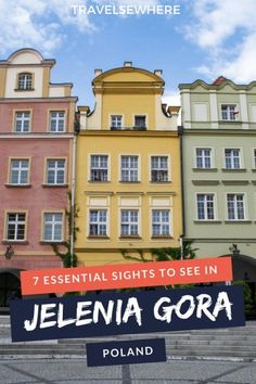 Within the Lower Silesia region, Jelenia Gora is a pretty and deeply interesting city but also unknown. Here are 7 sights to see in Jelenia Gora Poland. Europe On A Budget, Europe Travel Tips, Travel Guides, Travel Plan, Poland Travel, Spain Travel, European Destination, European Travel, Amazing Destinations