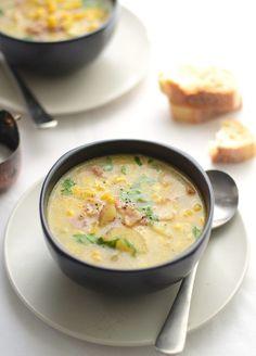 Sweetcorn & Bacon Soup