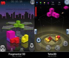 Fragmental 3d and Tetris 3D