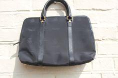 Venice Simplon Orient Express Black Handbag. Gold & Black Luxurious Design. Briefcase Style. Black Handbags, Luxury Handbags, Venice Simplon Orient Express, Train Service, Briefcase, Black Gold, Agatha Christie, Purses, Design