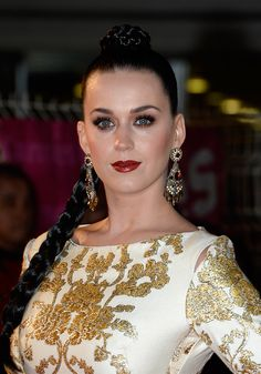 How to get Katy Perry's braided bun