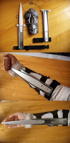 Functioning Hidden Blades and Bracer - Assassin's Creed $95.00