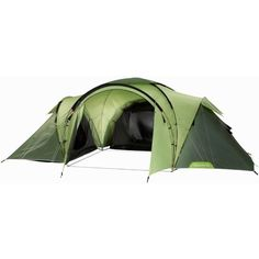 T6.3, 6 Man Family Tent, Green ($275) ❤ liked on Polyvore