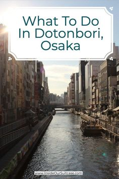 Are you visiting Osaka and looking for things to do in Osaka? Check out all these amazing things on our what to do in Dotonbori, Osaka. Check out places to eat in Dotonbori and where to go. Travel Guides, Travel Tips, Travel Destinations, Travel Articles, Asia Travel, Japan Travel, Osaka Japan, Travel Planner, Where To Go