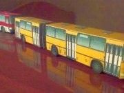 This vehicle paper model is an Ikarus an articulated urban bus produced by bus manufacturer Ikarus from Hungary, the papercraft is created by Pasha, a Paper Car, 3d Paper, Free Paper, Paper Crafts, Cardboard Toys, Paper Toys, Papercraft Download, Paper Models, Printable Paper