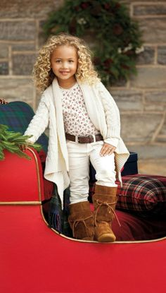 ALALOSHA: VOGUE ENFANTS: Children's Holiday Dressing