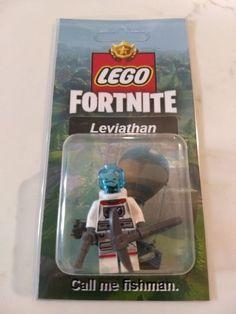 Fortnite Urban Assault Lego Minifigures Toy Shark Mode Skull Trooper