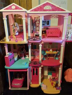 Barbie Doll Dream House #Mattel