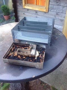 Smoke House Diy, Bbq, Outdoor Decor, Backyard Landscaping, Craft Work, House, Barbecue, Barrel Smoker