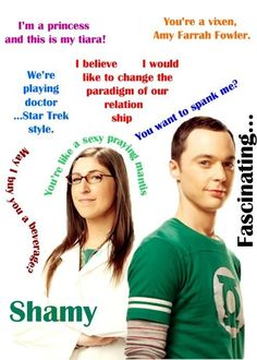 I'm in love with Shamy... There, I said it.