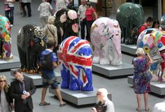 Elephant Parade is the world's largest open air art exhibition of decorated elephant statues that seeks to attract public awareness and support for Asian elephant conservation. Description from pinterest.com. I searched for this on bing.com/images