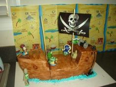 Veggie Tales Pirate Ship  By hek8209 on CakeCentral.com