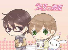 Sekai-ichi Hatsukoi    Ritsu Onodera  and  Masamune Takano -- i ship these two forever