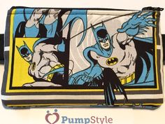 Batman insulin pump pouch
