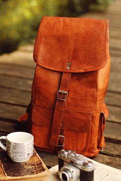 """Echtleder Gusti Leder Handtasche """"Archibald"""" Vintage-Style M60b IMG_0554"""