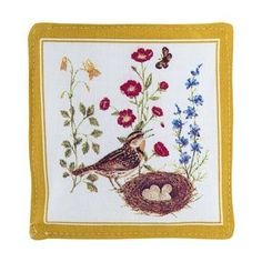 Picture yourself sitting in your favorite arm chair on a rainy Sunday evening, sipping your favorite hot tea while breathing in the homey aroma released by this Spiced Mug Mat. All you have to do is place warm tea or coffee on the mat to release the aromatic scent.
