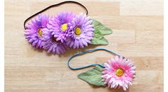 faux flower accessories