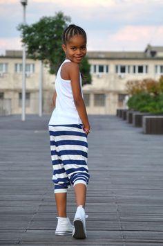 Mini Outfit - Tengerészlány