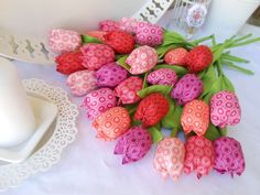 šité tulipány, Šitie | Artmama.sk