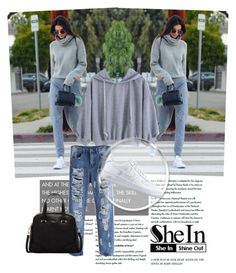 """SheIn contest"" by elmaa02104 ❤ liked on Polyvore featuring NIKE and Furla"