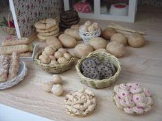 taikataikina leivonnaiset - Google-haku Dollhouse Furniture, Garlic, Haku, Stuffed Mushrooms, Vegetables, Furnitures, Christmas, Food, Google