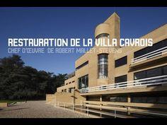 Restauration de la villa Cavrois, oeuvre de Robert Mallet-Stevens - YouTube