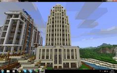 Minecraft skyscrapers - Page 9 - SkyscraperCity