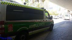 https://flic.kr/p/NRcpwg | St John Ambulance WA | Ambulance parked outside Royal Perth Hospital. Perth, WA
