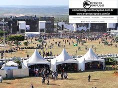 www.eventosraposo.com.br Brigadistas, Tendas, Unifilas, Gradil